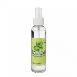 Hairspray with lime tree fragrance