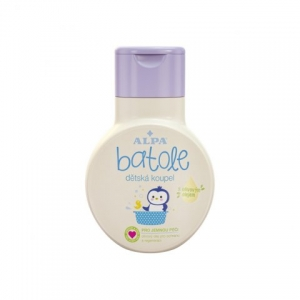 BATOLE baby bath with olive oil