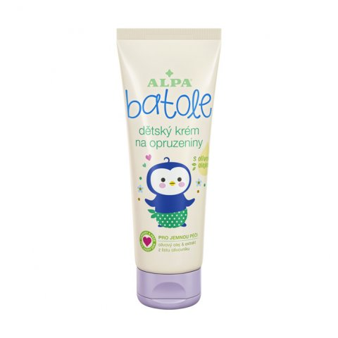 BATOLE baby cream against sore spots, with olive oil