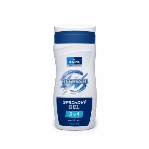 ALPA REFRESH sprchový gel 2v1