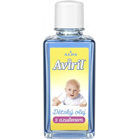 AVIRIL baby oil with azulene