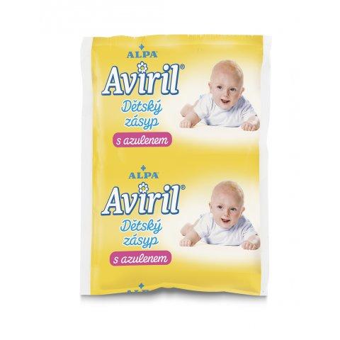 AVIRIL детская присыпка с азуленом - запасная упаковка, пакет