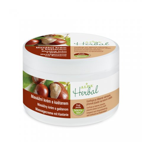 HERBAL Massgecreme mit Kastanie