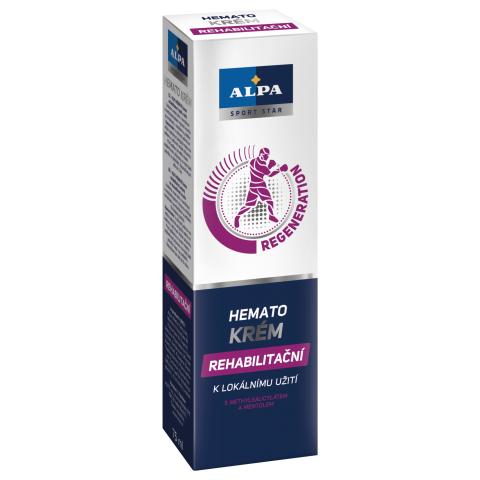 ALPA HEMATO Creme zur Hautpflege bei der Rehabilitation