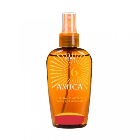 AMICA olej na opalování faktor 6