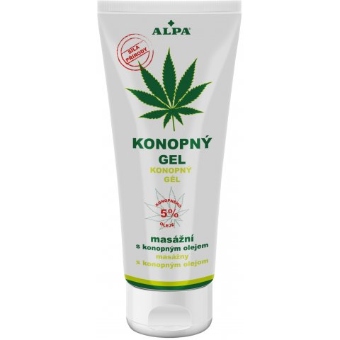 ALPA – CANABIS massage gel