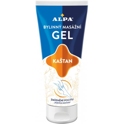 ALPA gel KAŠTAN – bylinný masážní