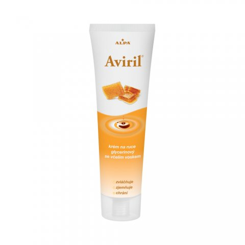 AVIRIL glycerine hand cream with beeswax