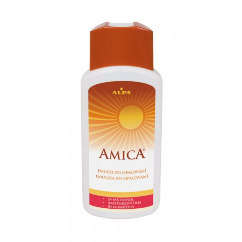 AMICA emulsion after sunbathing