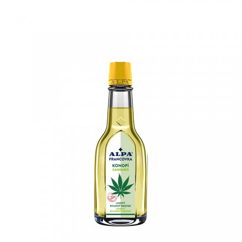 ALPA francovka KONOPÍ - lihový bylinný roztok 60ml, 160ml