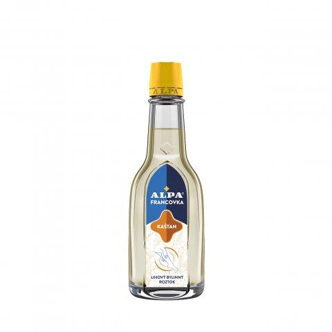 ALPA Franzbranntwein KASTANIE – Kräuterlösung mit Alkohol