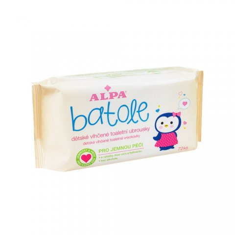 BATOLE Baby wet wipes with Aloe Vera