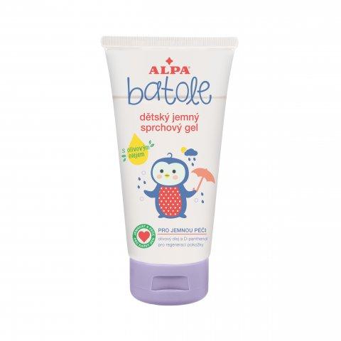 BATOLE dětský jemný sprchový gel s olivovým olejem