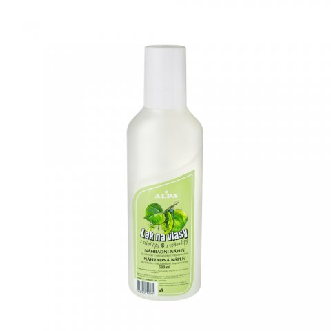 Hairspray with lime tree fragrance - replacement filling