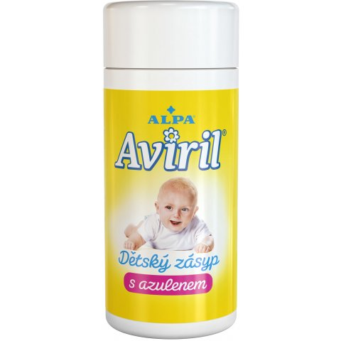 AVIRIL baby powder with azulene