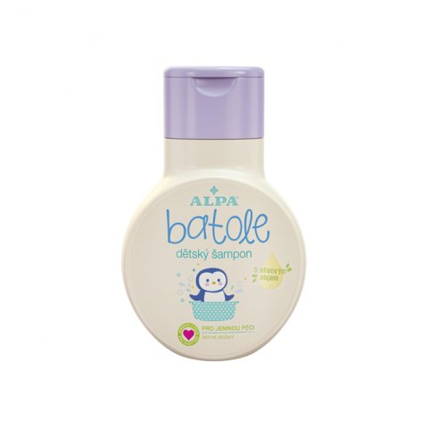 BATOLE baby shampoo with olive oil