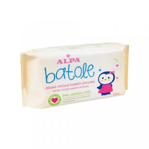 BATOLE Kinder-Feuchtigkeitspflegetücher mit Aloe Vera