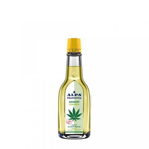 ALPA Franzbranntwein CANABIS – Kräuterlösung mit Alkohol