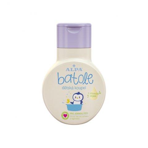 BATOLE detský kúpeľ s olivovým olejom