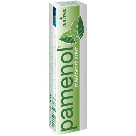 ALPA PAMENOL Herbal Massage Cream
