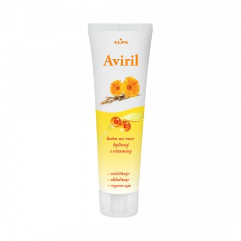 AVIRIL herbal hand cream with vitamins