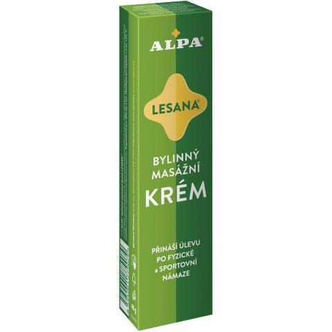 ALPA krém LESANA – bylinný masážny